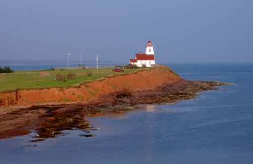 Wood Island's lighthouse