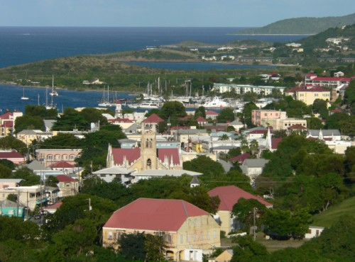 Christiansted view by day