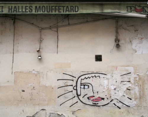 Face in Mouffetard