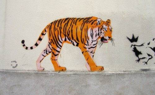 Tiger by Mosko et Associes